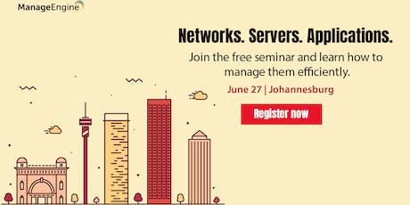 Free IT Operations Management Seminar | Johannesburg tickets