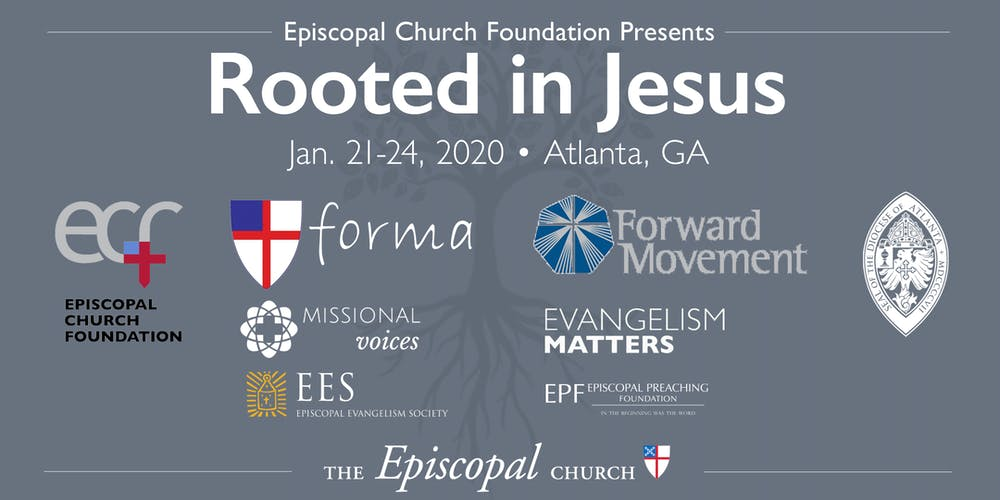 Episcopal Church Calendar 2020 ECF Presents: Rooted in Jesus Tickets, Tue, Jan 21, 2020 at 7:00