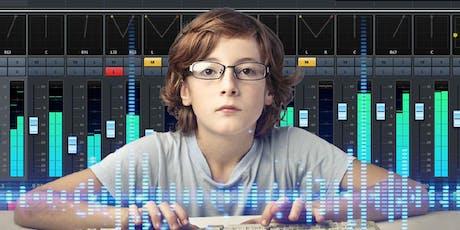 Corso di computer music (11-14 anni) tickets