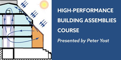 High-Performance Building Assemblies Course tickets
