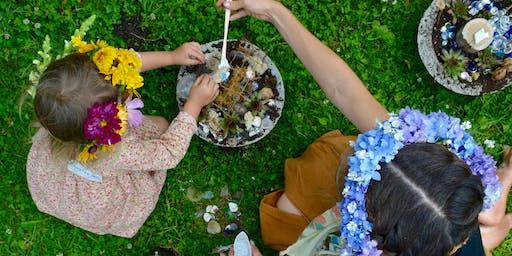 Fairy Gardens & Floral Crowns