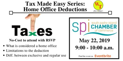 Tax Made Easy: Home Office Deductions