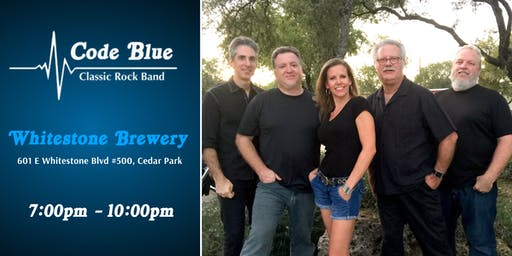 Code Blue Live at Whitestone Brewery 10/5