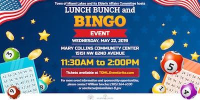 May 22nd Senior Lunch Bunch & Bingo