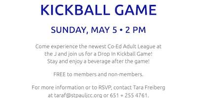 Drop In Kickball Game