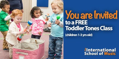 FREE TRIAL 5/6!  Toddler Tones Early Childhood Music Education!