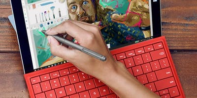 YouthSpark Camp: Create Digital Art with Fresh Paint