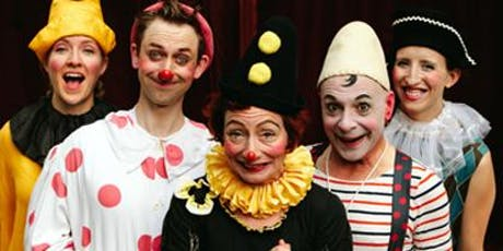 PREPOSTEROUS! a happenstance clown circus tickets