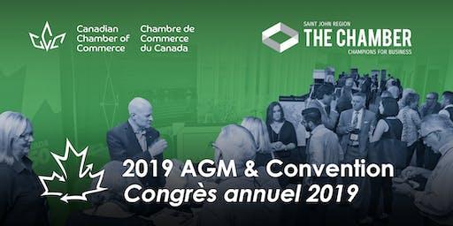2019 AGM & Convention - Congrès annuel 2019