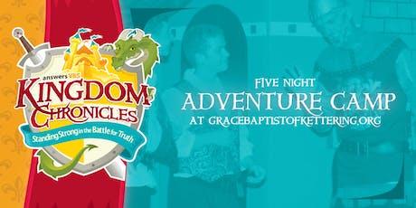 Adventure Camp tickets