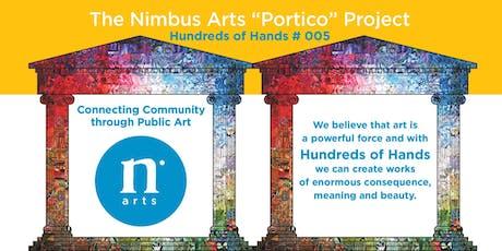 "Nimbus Arts ""Portico"" Free Community Mosaic Workshops tickets"