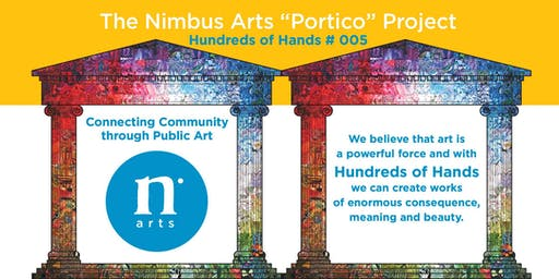 "Nimbus Arts ""Portico"" Free Community Mosaic Workshops"