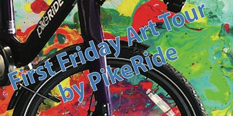 First Friday Art Tour by PikeRide (Aug) tickets