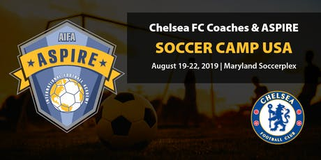 The Chelsea FC Coaches & Aspire International Soccer Camp USA 2019 tickets