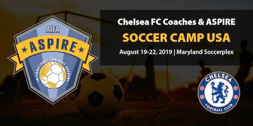 The Chelsea FC Coaches & Aspire International Soccer Camp USA 2019