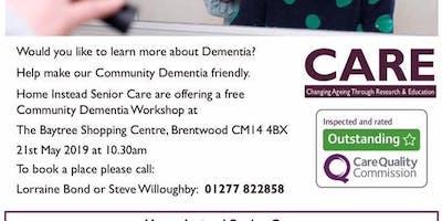 Community Dementia Workshop