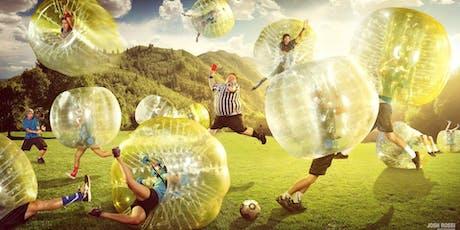 Bubble Football / Zorbing Tickets