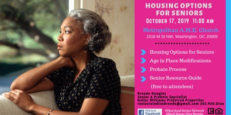 Housing Options for Seniors tickets