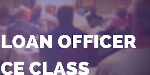 Cleveland: Loan Officer CE Class (by invitation only)