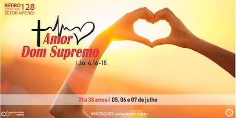 Retiro Espiritual - 128 (Setor Niterói) ingressos