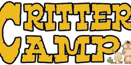 Critter Camp tickets