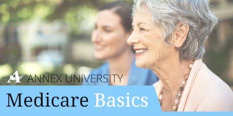 Annex University: Medicare Basics - 9/10/19 - Elm Grove tickets