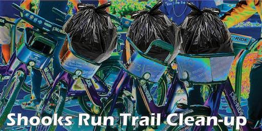 Shooks Run Trail Clean-up (August)