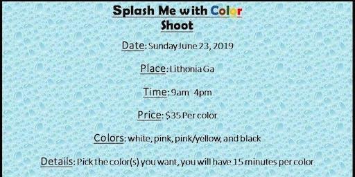 Splash me with Color shoot