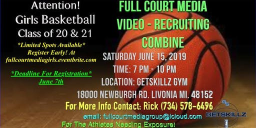Full Court Media Girls Basketball Video Recruiting Combine