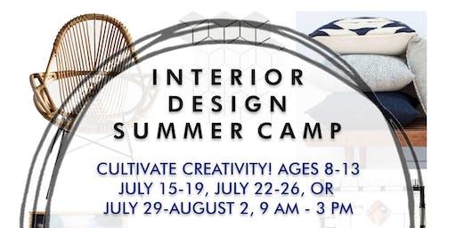 Cultivate Creativity - Interior Design Summer Camp