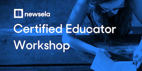 Newsela Certified Educator - New York, New York tickets