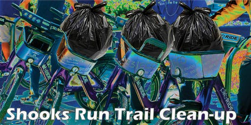 Shooks Run Trail Clean-up (Oct)