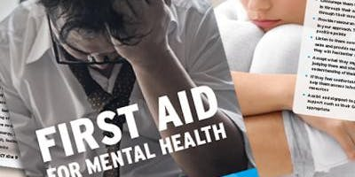 Awareness Mental Health First Aid Course - November