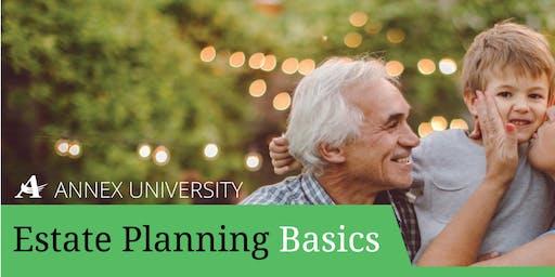 Annex University: Estate Planning Basics – Mequon | July 11, 2019
