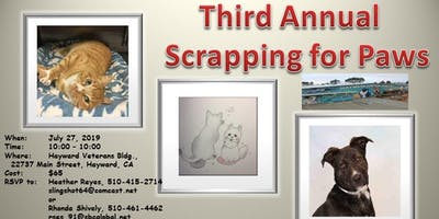 Scrapping for Paws