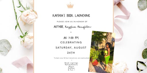 Celebrating Kayshia's Book Launching