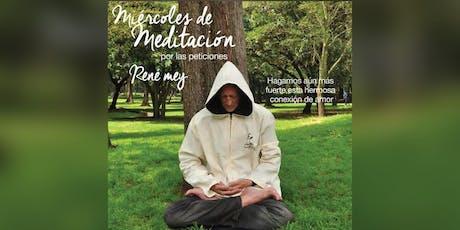 Miercoles de Meditacion Rene Mey Orlando USA entradas