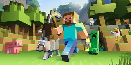 4 Day Minecraft Coding Camp, ages 8+ tickets