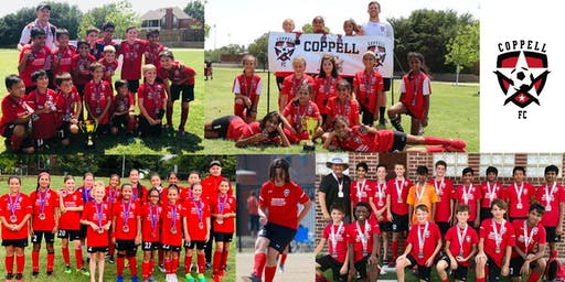 Coppell FC Open Practices - May 20 to June 28, 2019