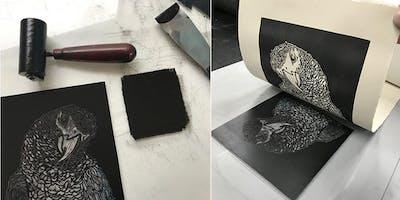 ***** Class: Beginning Printmaking