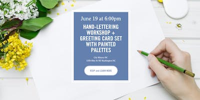 District Bliss | Hand-Lettering + Greeting Card Workshop