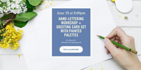 District Bliss | Hand-Lettering + Greeting Card Workshop tickets