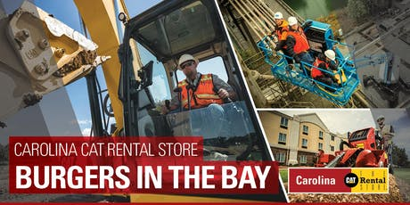 Carolina Cat Rental Store Burgers in the Bay tickets