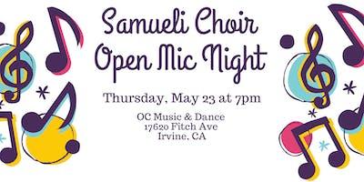 Samueli Open Mic Night