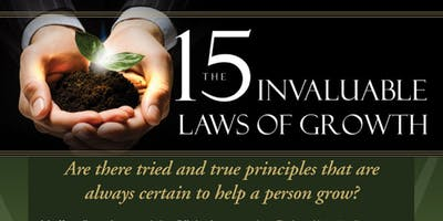 The 15 Invaluable Laws of Growth Workshop