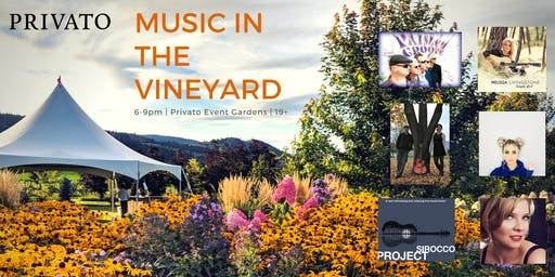 Music in the Vineyard, Friday Night fest's at Privato