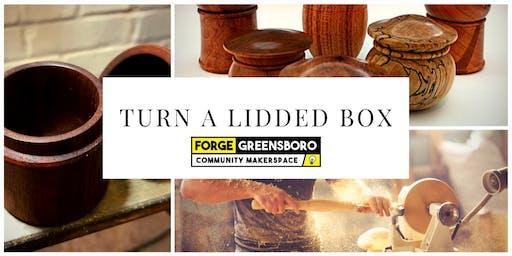 Wood Lathe: Lidded Boxes