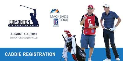 2019 Edmonton Championship Caddie Registration