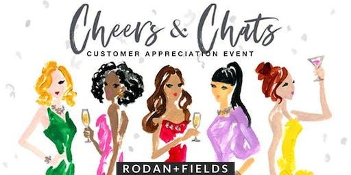 Rodan + Fields Customer Appreciation Night featuring Denice Valles