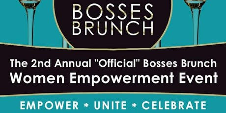 2nd Annual Bosses Brunch tickets